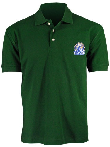 SALE: polo shirt, green - size S